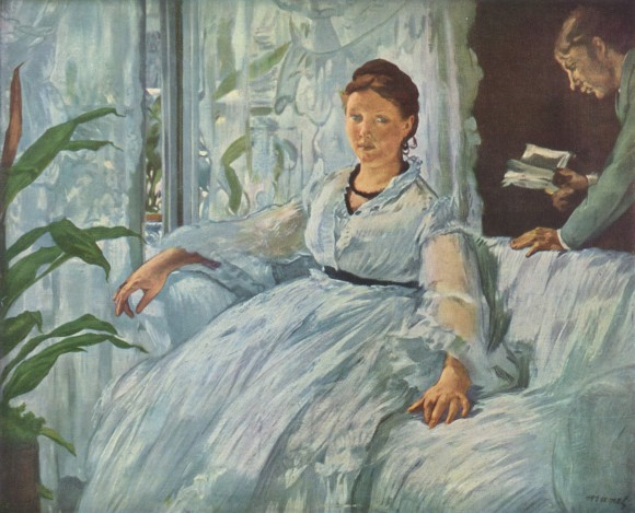 Edouard Manet de voordracht 580x469 De intrigerende vrouwen van Edouard Manet